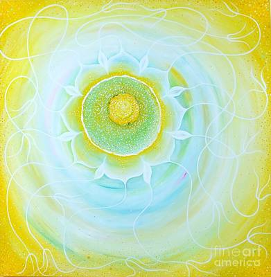 Tantra Painting - Nourishing The Soul by Victoria Tara