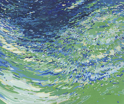 Juul Painting - Soul Of The Ocean by Margaret Juul