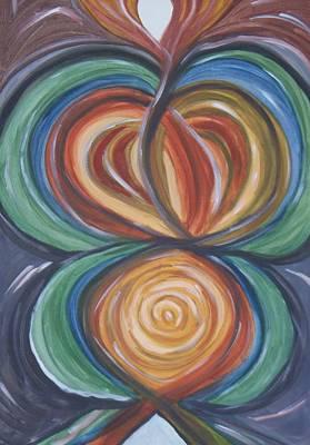Inner Self Painting - Soul Print by Patricia Idarola