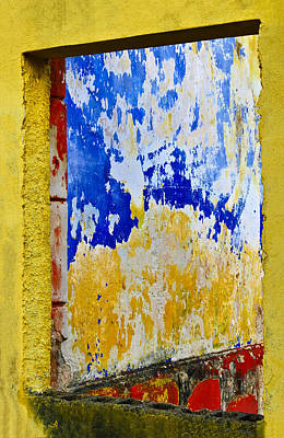 Paint Photograph - Soul Window by Skip Hunt