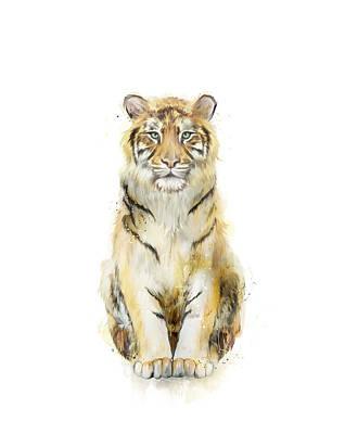 Tiger Mixed Media - Sound by Amy Hamilton