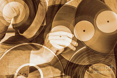 Double Exposure Photograph - Sound Double Exposure by Jorgo Photography - Wall Art Gallery
