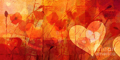 Sound Of Love Print by Lutz Baar