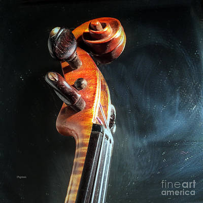 Violin Digital Art - Sound   by Steven  Digman