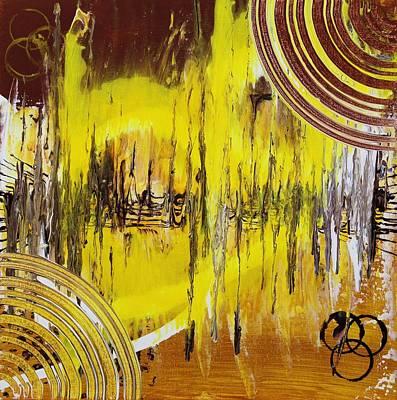 Pentagram Art Painting - Sound Vision by Embrace the Matrix
