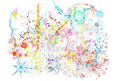 Science Painting - Sounding The Void by Regina Valluzzi