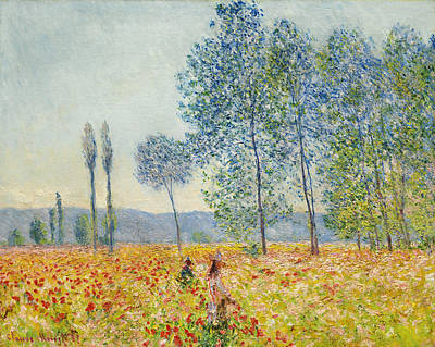 Painting - Sous Les Peupliers by Claude Monet