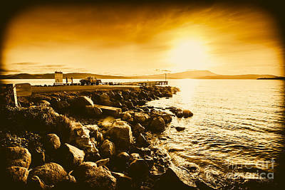 Angling Photograph - South Arm Sunset by Jorgo Photography - Wall Art Gallery