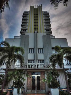 South Beach - Shorecrest Hotel 001 Print by Lance Vaughn