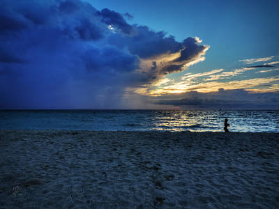 Beach Photograph - South Beach Sunrise 001 by Lance Vaughn