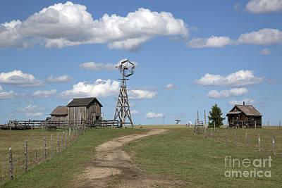 South Dakota: Windmill Print by Granger