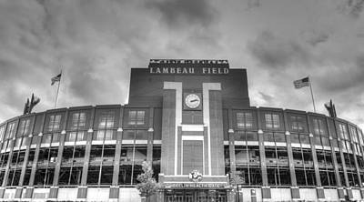 Green Bay Photograph - South End Zone Lambeau Field by James Darmawan