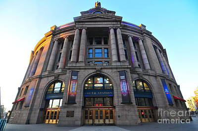 South Station Boston  Print by Catherine Reusch  Daley
