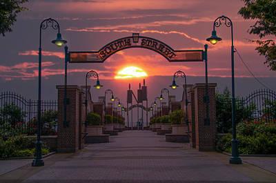 Sunrise Photograph - South Street Sunrise by Bill Cannon