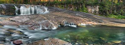 South Umpqua Falls Print by Leland D Howard