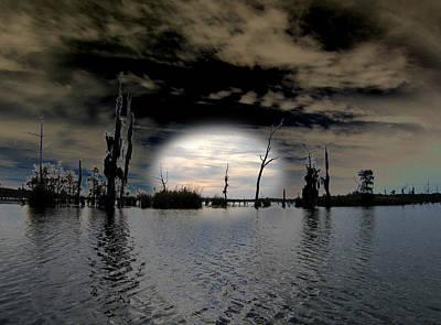 Dreamscape Mixed Media - Southern Lake by Rick McKinney