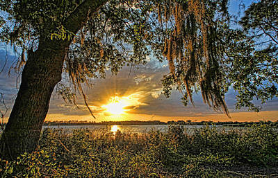 Sunsets Photograph - Southern Nights by HH Photography of Florida