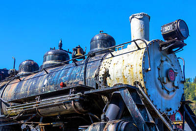 Old Trains Photograph - Southern Pacific Train Number 90 by Garry Gay