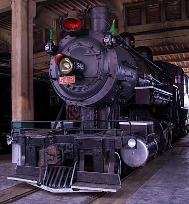 Fire Works Digital Art - Southern Railway #542  by Chris Flees
