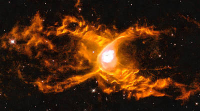 Spider Photograph - Space Image Red Spider Nebula by Matthias Hauser
