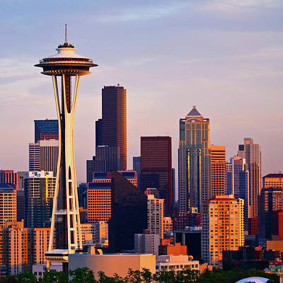 Space Needle Print by Sbk_20d Pictures