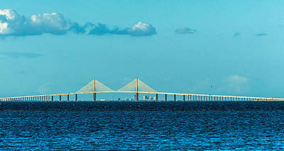 Interstate Photograph - Span Over St. Petersburg by Marvin Spates