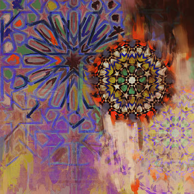 Spain Painting - Spanish 167 5 by Mawra Tahreem