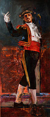 Ballet Dancers Painting - Spanish Culture 25 by Corporate Art Task Force