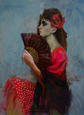Ballet Dancers Painting - Spanish Culture 27 by Corporate Art Task Force