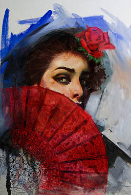 Spain Painting - Spanish Culture 29 by Corporate Art Task Force