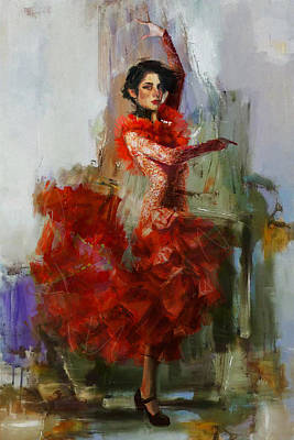 Spain Painting - Spanish Culture 31 by Corporate Art Task Force