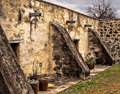 Spanish Mission Architecture Print by David and Carol Kelly