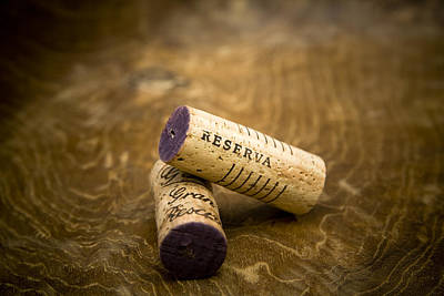 Wine Photograph - Spanish Wine Corks - Reserva And Gran Reserva by Frank Tschakert