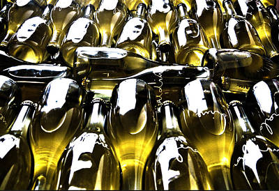 Sparkling Bottles Original by Nadine Dennis