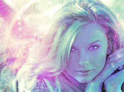 Taylor Swift Digital Art - Sparks Fly by Mal Bray