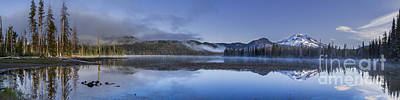 Oregon Photograph - Sparks Lake Summer Panorama by Twenty Two North Photography