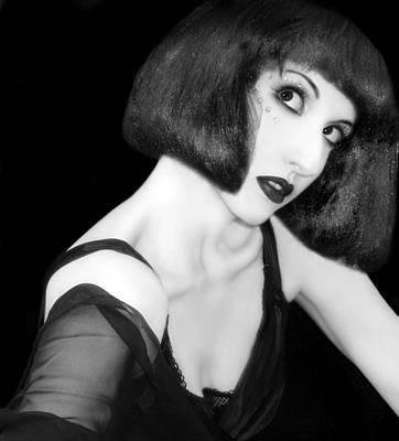 Self-portrait Photograph - Speak - Self Portrait by Jaeda DeWalt