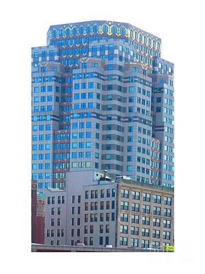 Spectacular Boston City Towers Original by Navin Joshi