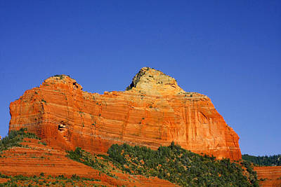 Spectacular Red Rocks - Sedona Az Print by Christine Till