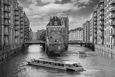 Photograph - Speicherstadt-hamburg by Robert Lacy