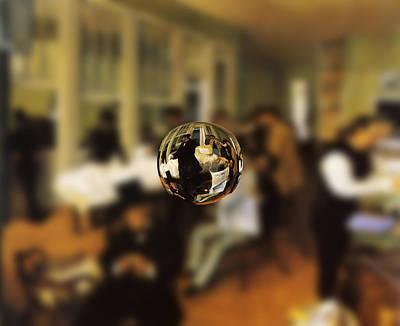 Sphere 17 Degas Print by David Bridburg