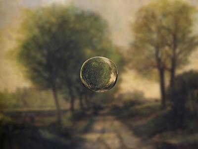 Country Dirt Roads Digital Art - Sphere 20 Sisley by David Bridburg