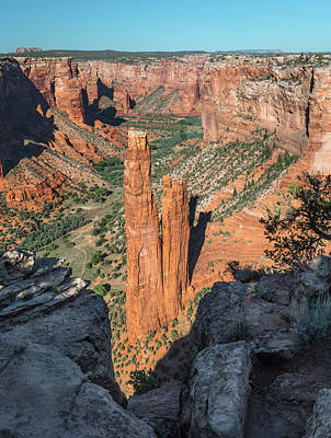 Chelly Photograph - Spider Rock by Joseph Smith