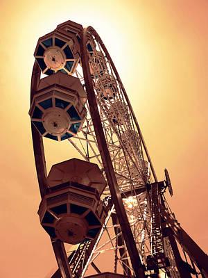 Pleasure Digital Art - Spinning Like A Ferris Wheel by Glenn McCarthy Art and Photography