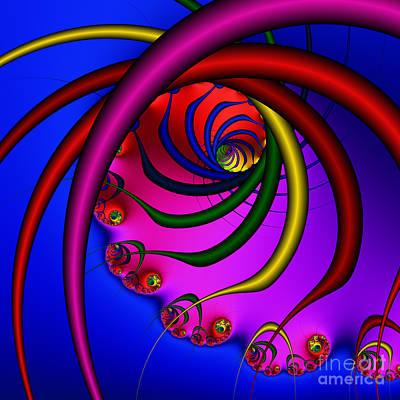 Spiral 216 Print by Rolf Bertram