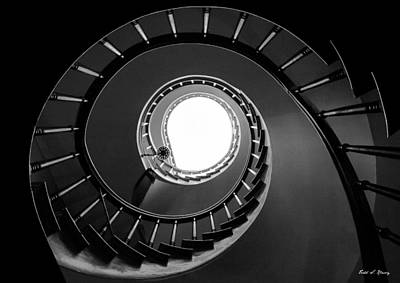 Staircase Photograph - Spiral Staircase by Todd Klassy
