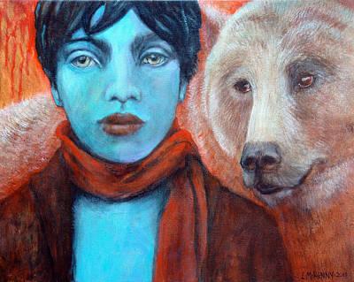 Spirit Helper Print by Lorraine Marian Kenny