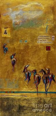 Spirit Horses Print by Frances Marino