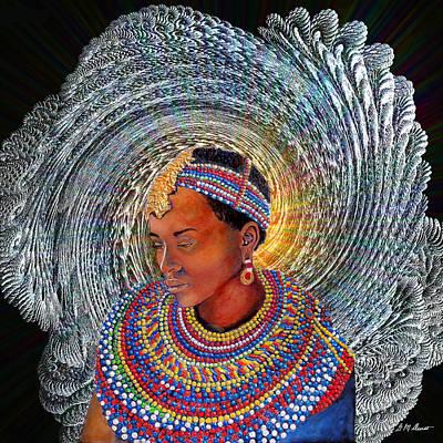 Spirit Of Africa Print by Michael Durst