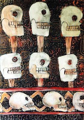 Ruins Mixed Media - Spirit Of The Dead  Ap2 by Pamela Iris Harden
